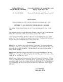 Quyết định số 4946/QĐ-UBND