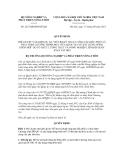 Quyết định số  2237/QĐ-BNN-HTQT