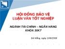 Quản trị rủi ro trong hoạt động kinh doanh ngân hàng điện tử tại Ngân hàng Đầu tư và Phát triển Việt Nam (BIDV) – Chi nhánh Đà Nẵng