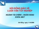 HOẠCH ĐỊNH CHIẾN LƯỢC PHÁT TRIỂN KINH DOANH TỪ NĂM 2008 – 2012  CHO CÔNG TY CHỨNG KHOÁN ACBS  CHI NHÁNH TẠI ĐN