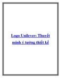 Logo Unilever: Thuyết minh ý tưởng thiết kế