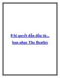 8 bí quyết dẫn đầu từ... ban nhạc The Beatles