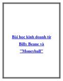 Bài học kinh doanh từ Billy Beane và