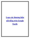 Logo các thương hiệu nổi tiếng trên Google Earth.Quảng cáo KFC ở Rachel, Nevada