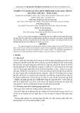 """BÁO CÁO """"NGHIÊN CỨU ĐÁNH GIÁ MỨC ĐỘ Ô NHIỄM KIM LOẠI NẶNG TRONG HỒ CÔNG VIÊN 29/3 – TP ĐÀ NẴNG """""""