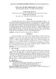 """BÁO CÁO """" VIỆT NAM VỚI TIẾN TRÌNH HỢP TÁC ASEAN+3 VIETNAM WITH ASEAN+3 COOPERATION PROCES """""""