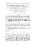 """BÁO CÁO """"  NGHIÊN CỨU BÁN TỔNG HỢP CACBOXYL METHYL CELLULOSE (CMC) HÒA TAN TỪ CELLULOSE THÂN TRE """""""