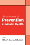 Clinical Manual of Prevention in Mental Health