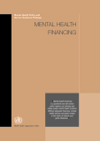 Mental Health Policy and Service Guidance Package: MENTAL HEALTH FINANCING