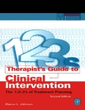 Therapist's Guide to Clinical Intervention The 1-2-3's of Treatment Planning