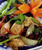 Bổ dưỡng món thịt gà xào rau củ