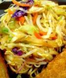 Mì xào thịt gà Thượng Hải