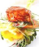 Thịt nai trộn hoa atisô