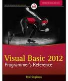 VISUAL BASIC® 2012 PROGRAMMER'S REFERENCE
