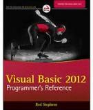 VISUAL BASIC® 2012 PROGRAMMER'S REFERENCE