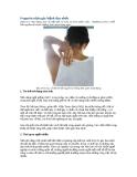 6 nguyên nhân gây bệnh đau nhức