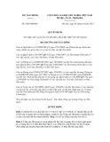 Quyết định số 2428/QĐ-BTC