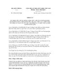 Thông tư số 105/2012/TT-BQP