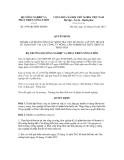 Quyết định số 2599/QĐ-BNN-ĐMDN