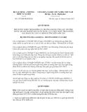Quyết định số 1477/QĐ-BLĐTBXH