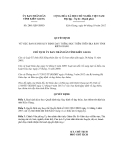 Quyết định số 2081/QĐ-UBND