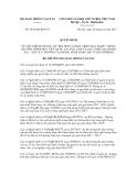 Quyết định số 2636/QĐ-BGTVT