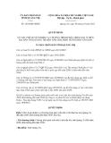 Quyết định số 1824/QĐ-UBND
