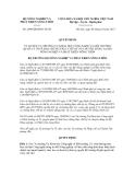Quyết định số 2409/QĐ-BNN-TCCB