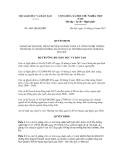 Quyết định số 4445/QĐ-BGDĐT