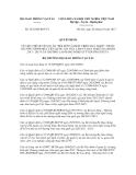 Quyết định số  2632/QĐ-BGTVT