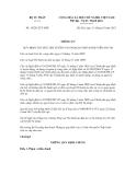 Thông tư số 10/2012/TT-BTP