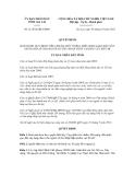 Quyết định số  21/2012/QĐ-UBND