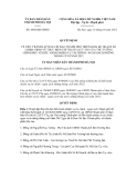 Quyết định số 4668/QĐ-UBND