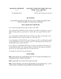 Quyết định số 2818/QĐ-TTCP