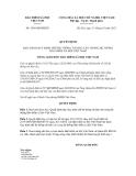 Quyết định số 1456/QĐ-BHXH