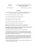 Nghị định số 77/2012/NĐ-CPC