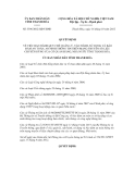 Quyết định số 3396/2012/QĐ-UBND