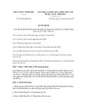 Quyết định số 41/2012/QĐ-TTg