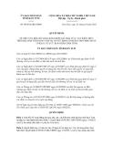 Quyết định số 48/2012/QĐ-UBND