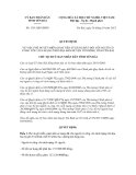 Quyết định số 1351/QĐ-UBND