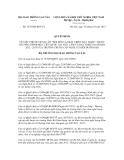 Quyết định số 2535/QĐ-BGTVT