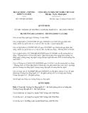 Quyết định số 1458/QĐ-LĐTBXH