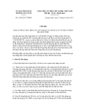 Văn bản Chỉ thị số 18/2012/CT-UBND