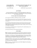 Quyết định số 4963/QĐ-UBND