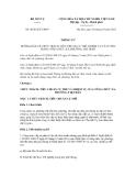Thông tư số 06/2012/TT-BNV