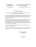 Quyết định số  2092/QĐ-UBND