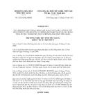 Nghị quyết số 32/2012/NQ-HĐND