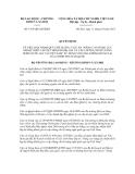 Quyết định số 1415/QĐ-LĐTBXH