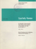 The Benefits of Bank Deposit  Rate Ceilings: New Evidence  on Bank Rates and Risk  in the 1920s (p. 2)