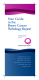 Your Guide to the Breast Cancer  Pathology Report